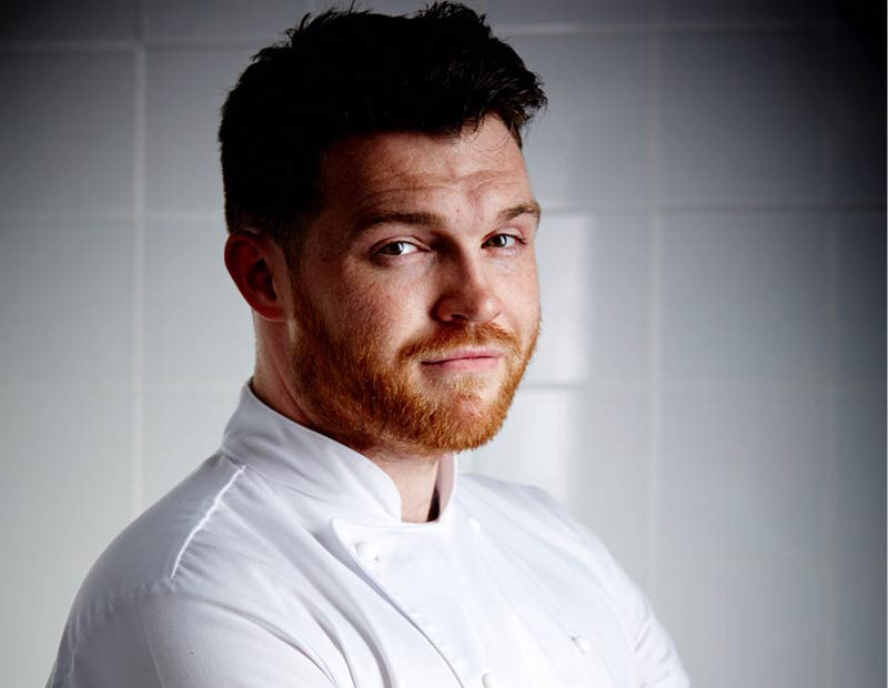 Tom Brown is leaving Outlaws at The Capital to start his own restaurant in Hackney Wick