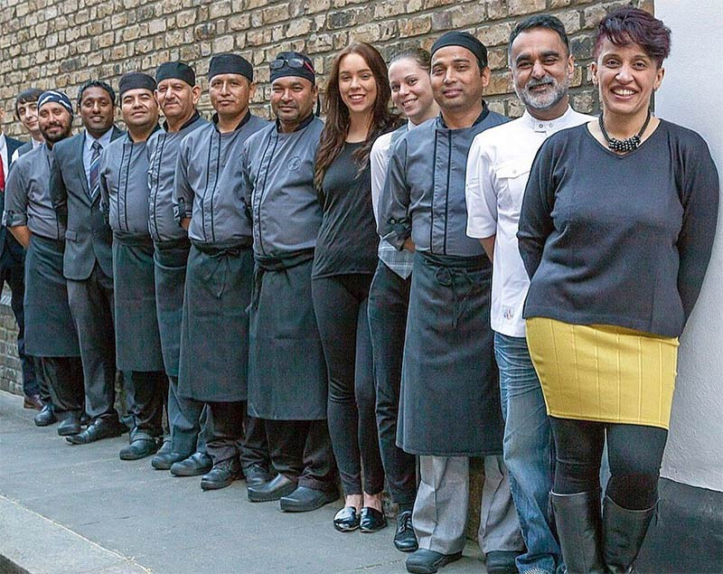 One week on from winning a Michelin star, Vineet Bhatia London closes