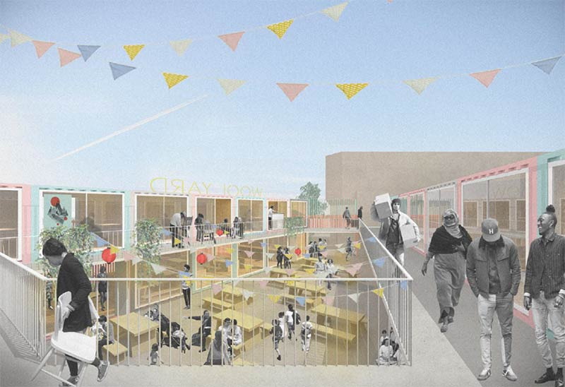 Wool Yard is coming to Woolwich from the people behind Pop Brixton