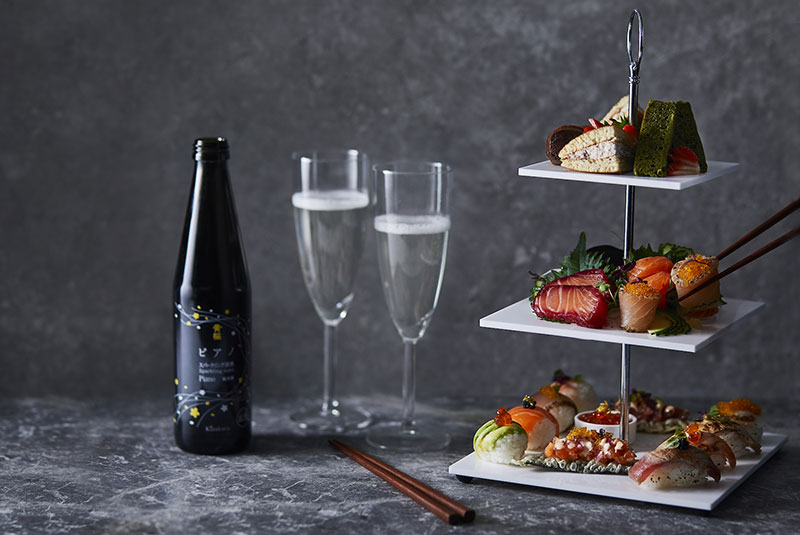 Yo! Sushi pops up with Japanese afternoon tea at Selfridges