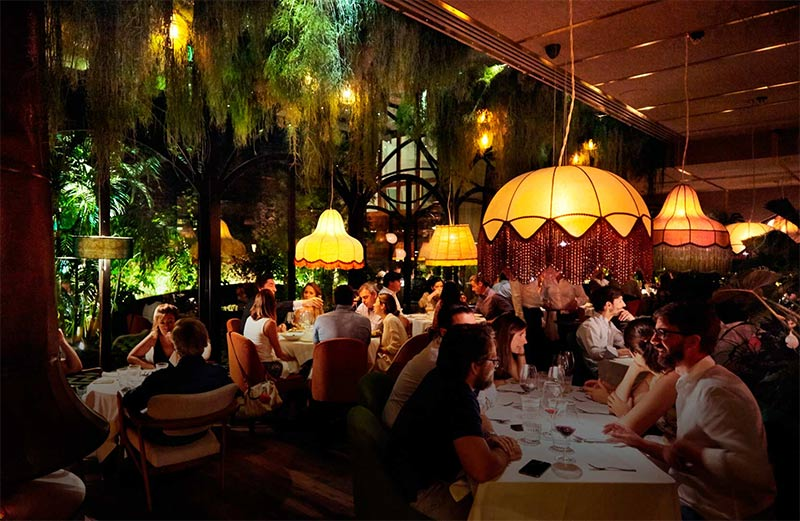 Madrid's Amazonico rainforest restaurant is coming to London