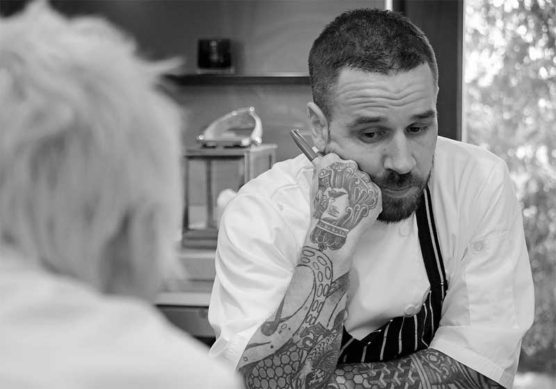 Could Gary Usher be opening a restaurant in London?