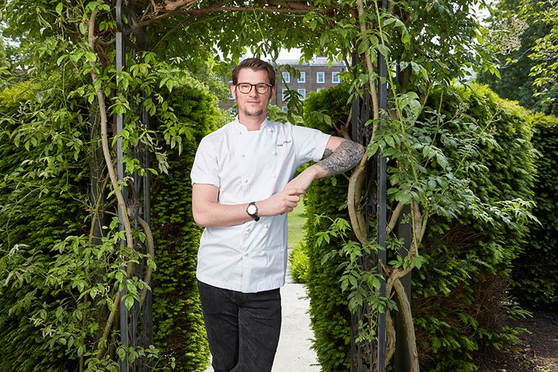 Adam Handling runs the Belmond Cadogan Hotel food, Adam Simmonds is in the kitchen