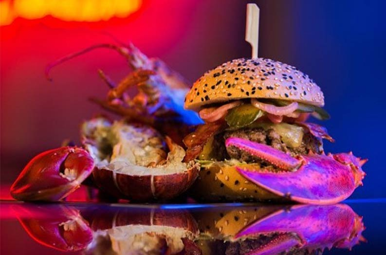 Burger and Lobster are popping up at Fulham's little Blue Door for a week of lobster-enhanced dishes