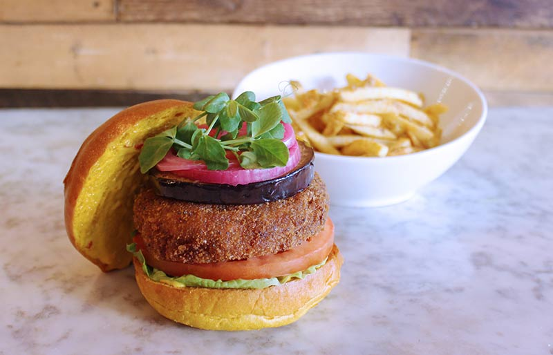 Darjeeling Express's Asma Khan teams up with Haché for the Lotus Burger