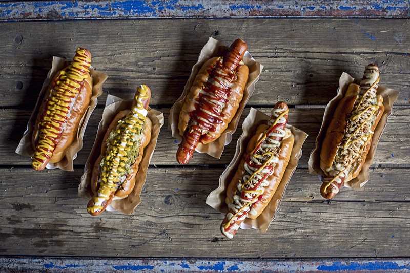 Oh My Dog! bring their new vegan hot dog range to Peckham's Old Nun's Head