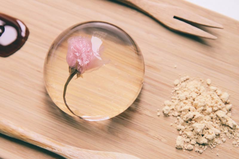 Yamagoya is bringing out a cherry blossom raindrop cake for Spring