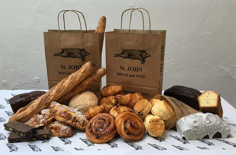 St John Bakery is popping up at Old Street station