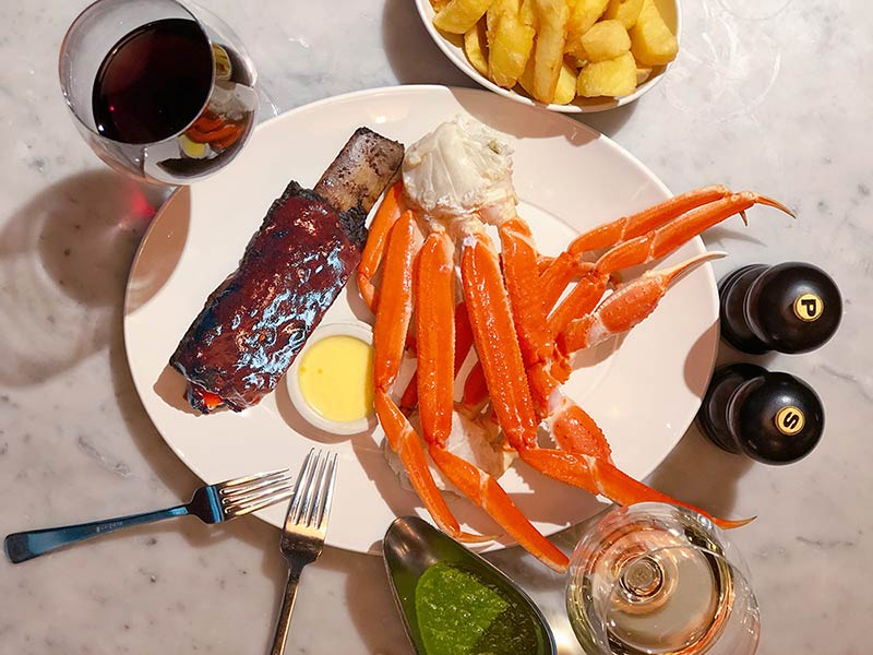 Zelman Meats just added a whole heap of snow crab to the menu