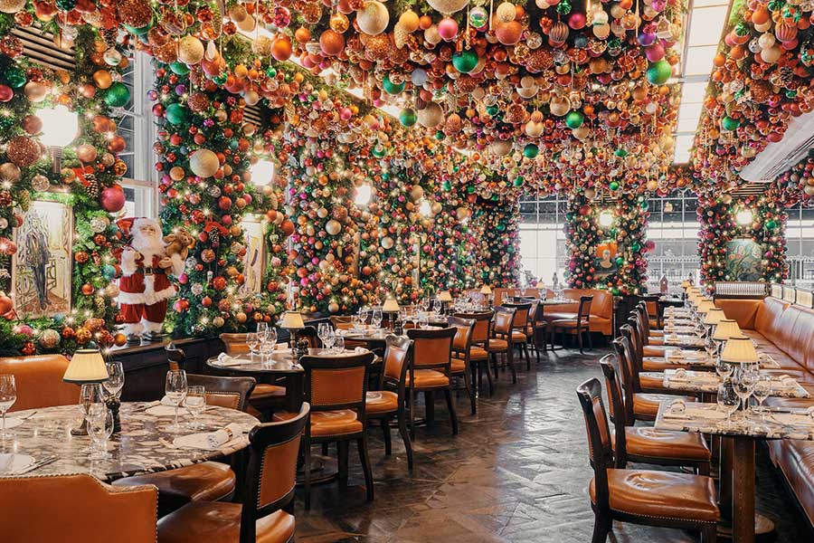 34 restaurant mayfair christmas