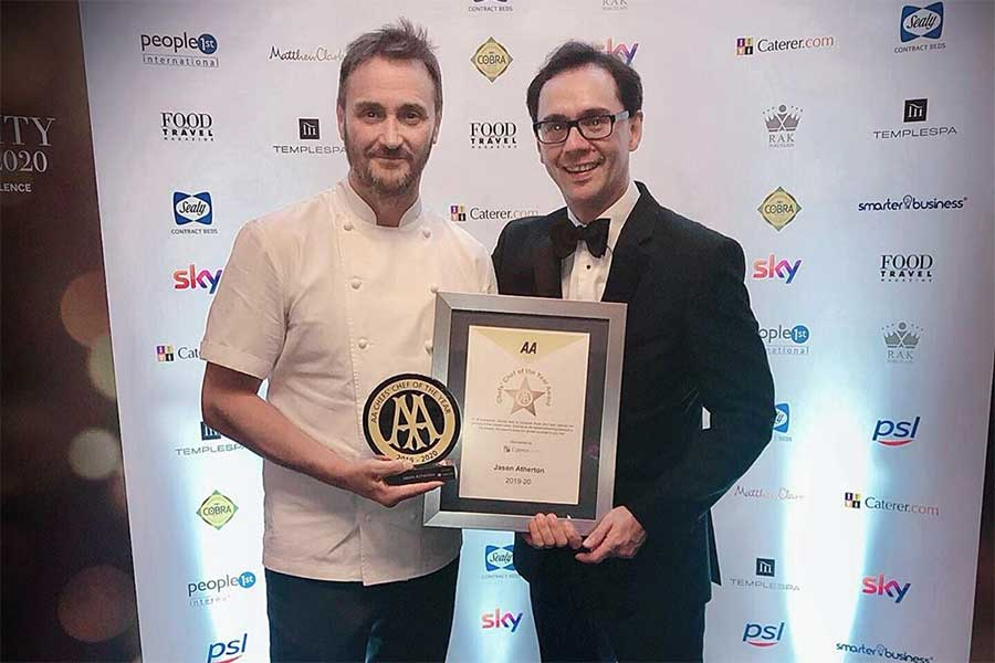 jason atherton aa awards