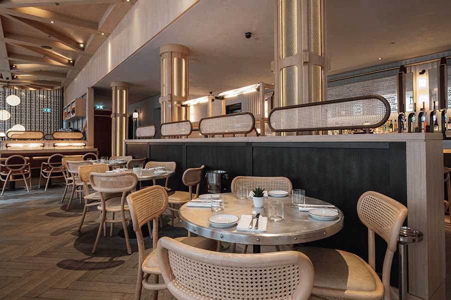 Barboun in Shoreditch is a levantine restaurant from the Yosma and Hovarda team