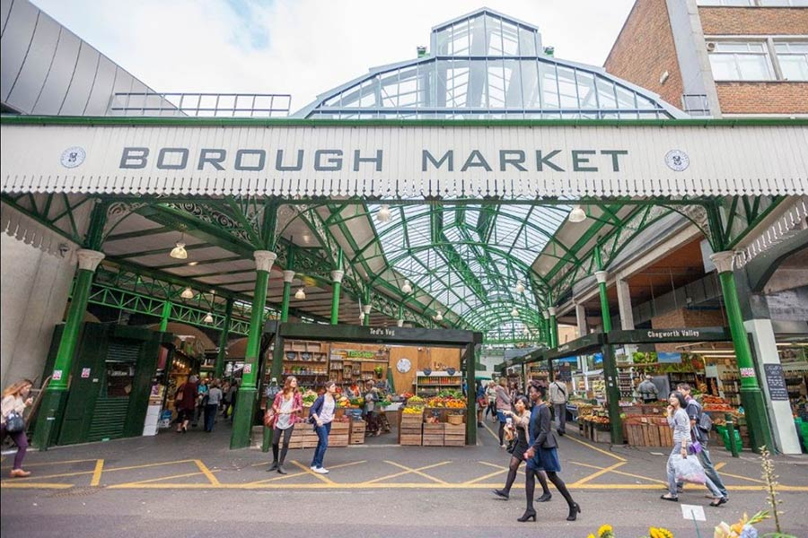 Borough Market to open a new dining space in mid-November: The Borough Market Kitchen