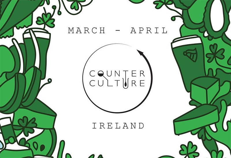 The Dairy's Counter Culture goes Irish for March and April