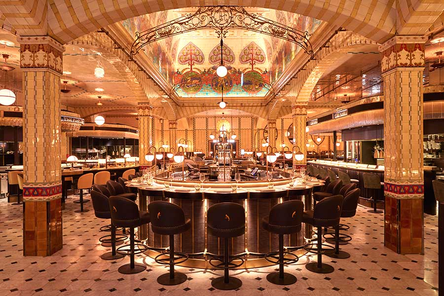 Harrods' big food hall revamp continues as The Dining Hall is unveiled