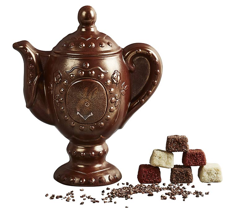 Heston chocolate tea pot