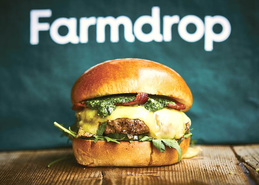 Honest Burgers and Farmdrop
