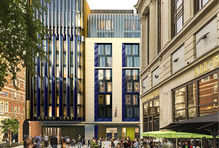 The Londoner hotel opening on Leicester Square