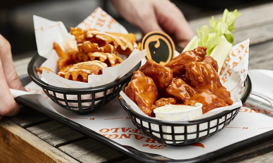 Orange Buffalo are bringing their chicken wings to Tooting