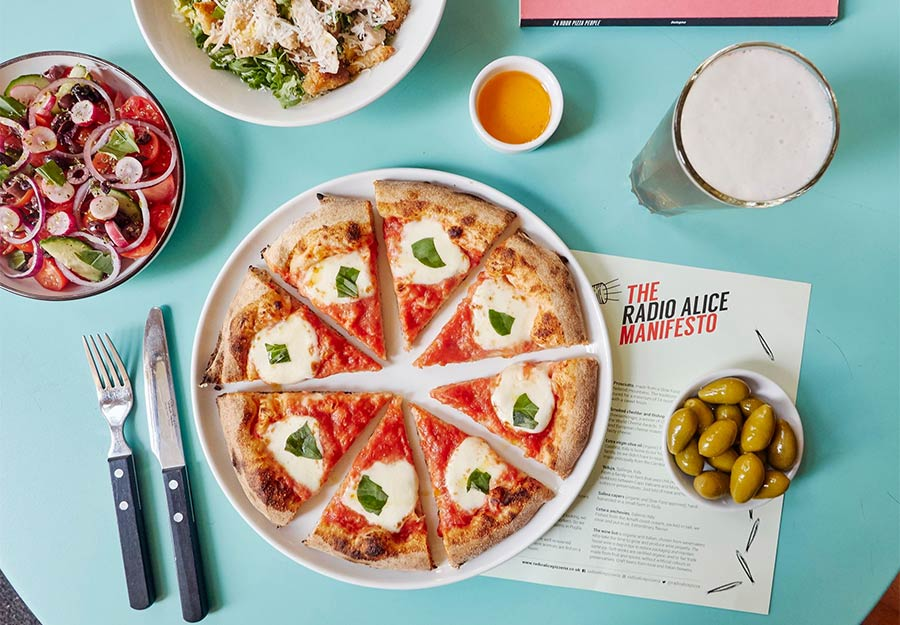 Radio Alice are bringing their pizzas to Canary Wharf