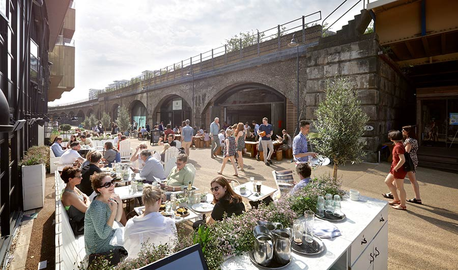 River walk Market is a new food and craft market for Battersea Power Station