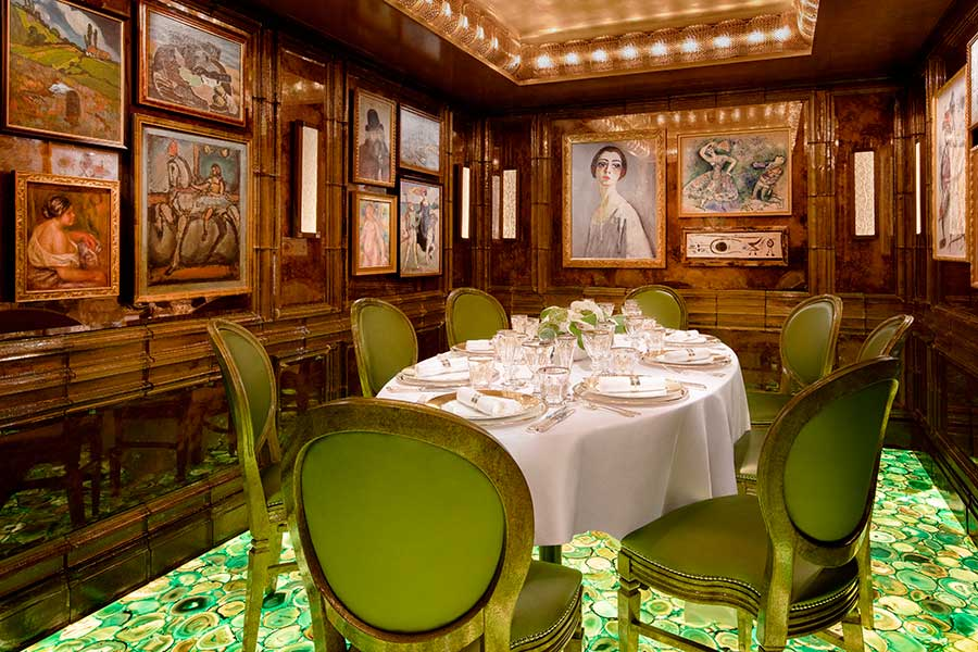 scotts private dining room mayfair