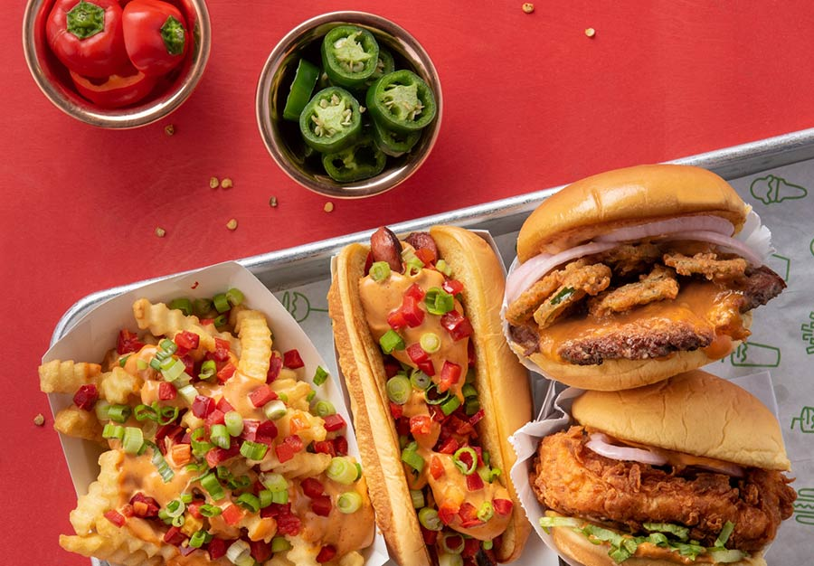 Shake Shack are launching a chipotle-cheddar themed menu