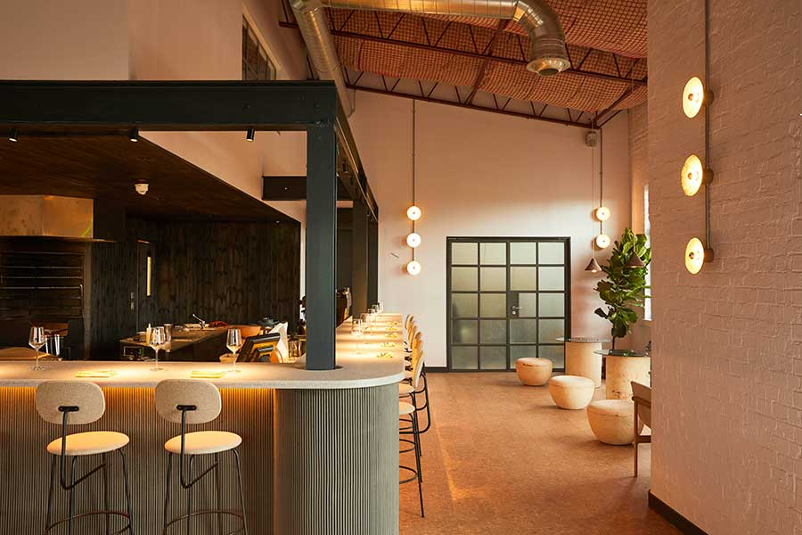 silo restaurant crate brewery hackney