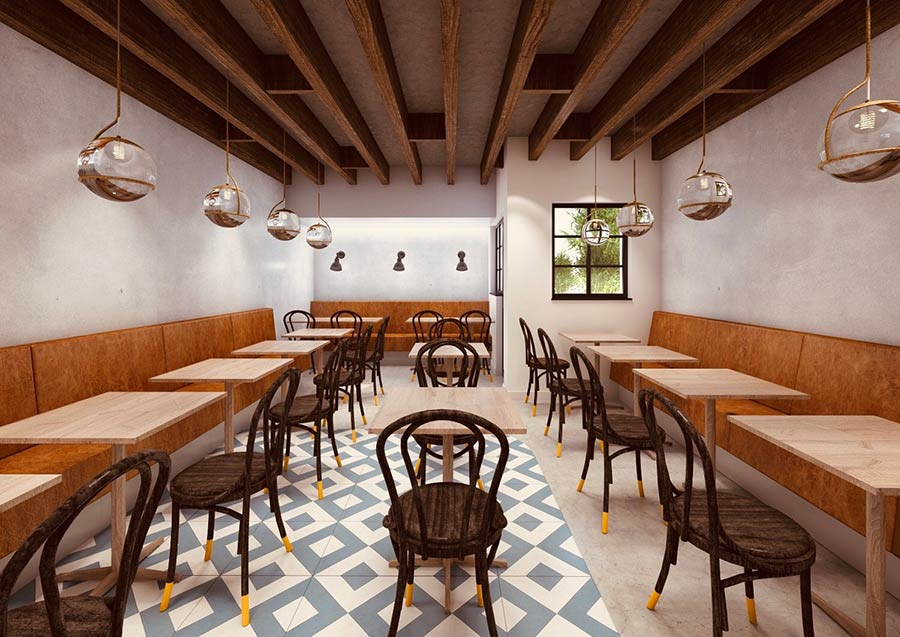 Suzi Tros is a New Greek Bistro from the Team behind Mazi in Notting Hill