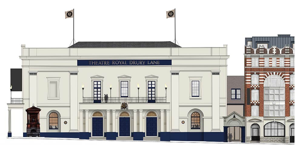 The Theatre Royal Drury lane is getting a new restaurant and bar with a Lloyd Webber/Caring team-up
