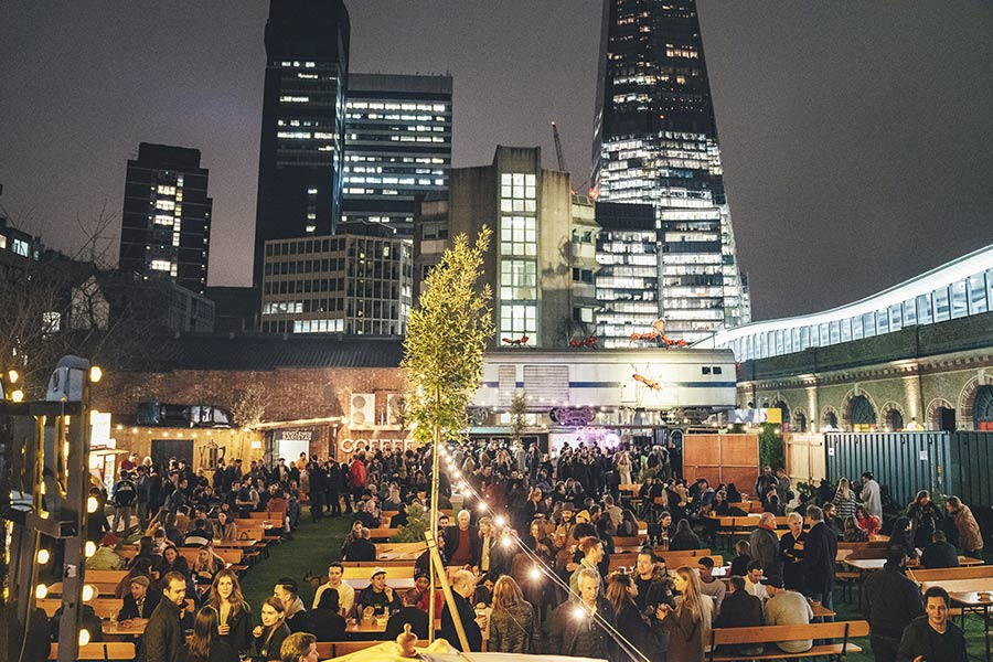 Vinegar Yard is a brand new eating, drinking and shopping spot for London Bridge