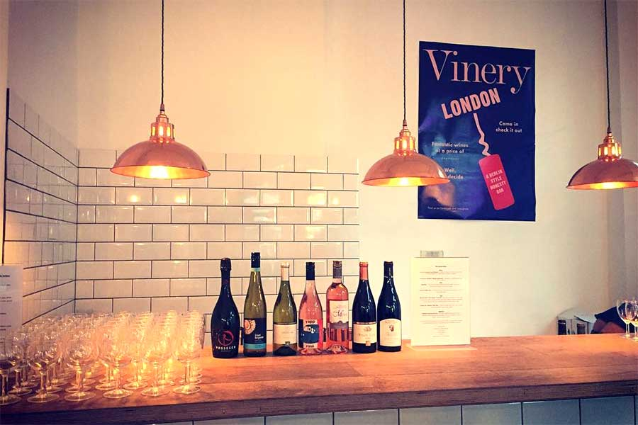 vinery honesty wine bar london