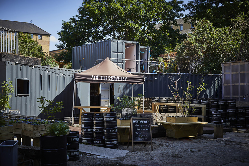 40ft Brewery to celebrate reopening in Dalston with a 6ft beer