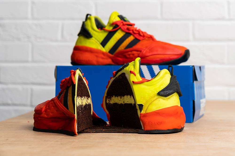 Deliveroo and Adidas team up for cake trainers