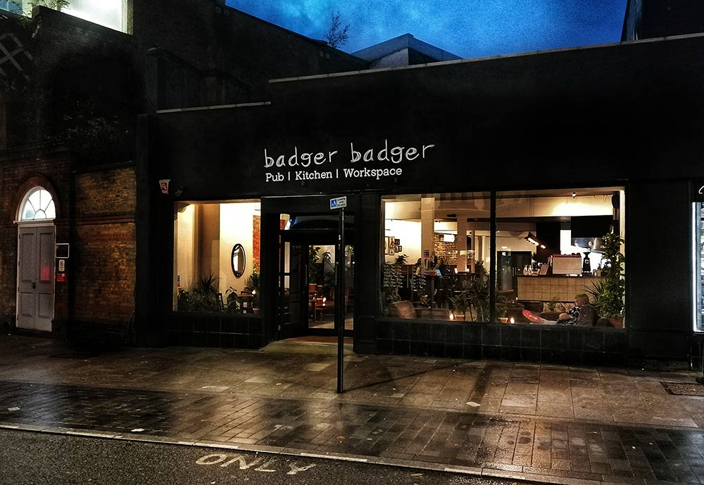Badger Badger is a new pub with yakitori & games in Deptford