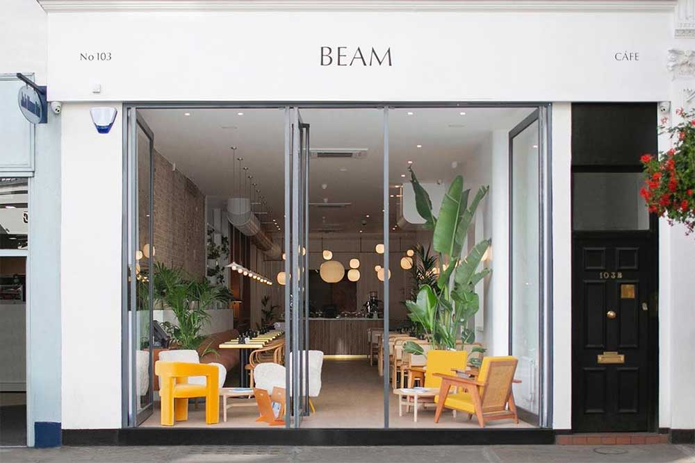 Beam cafe is coming to Notting Hill
