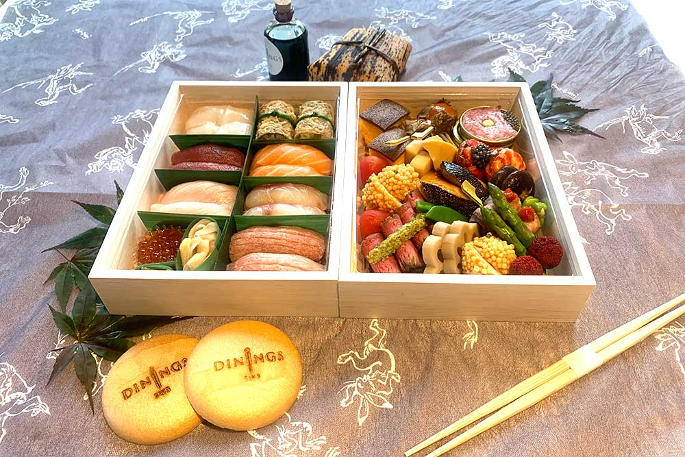 dinings sw3 luxury bento box delivery