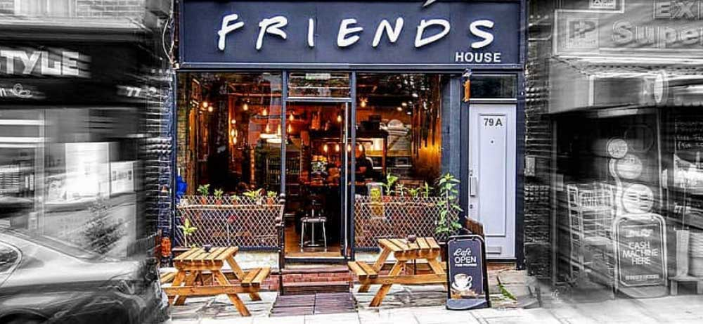 friends cafe archway london