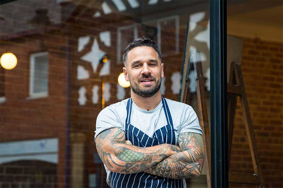 gary usher launches elite bistros at home