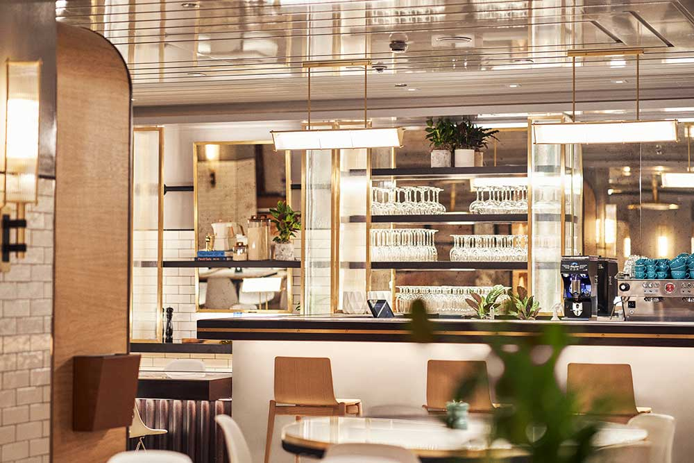 harrods brasserie opens in Knightsbridge