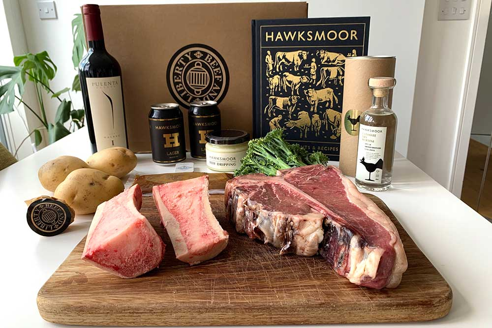 hawksmoor at home is the restaurant group's first delivery box