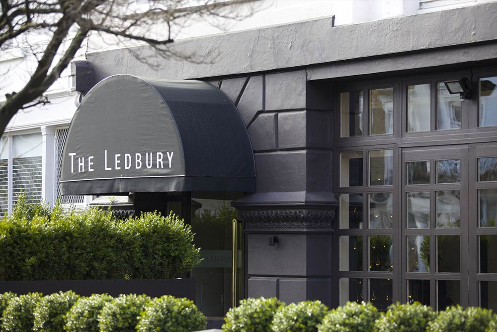 ledbury restaurant won't reopen