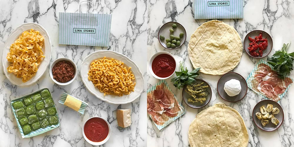 Lina Stores, the 75-year-old Italian Soho stalwart, launches its online deli
