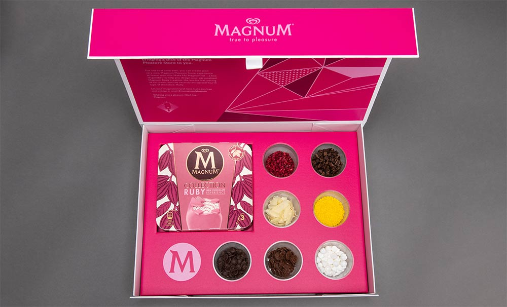 A free make-your-own Magnum kit is coming