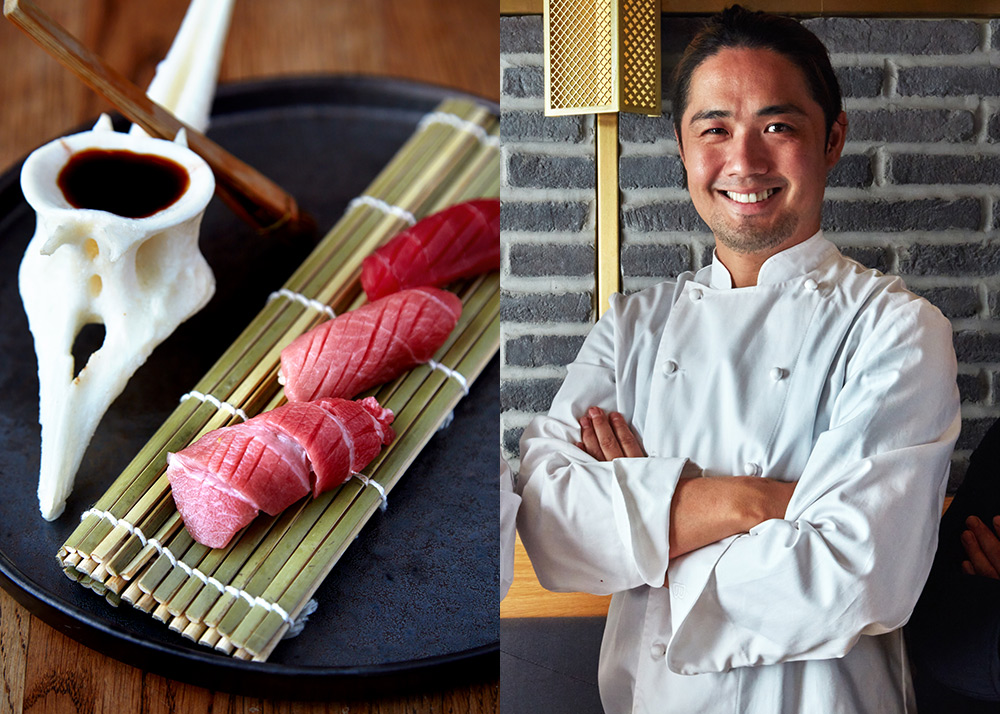 Maru, a 2-course Omakase restaurant will be replacing the original Taka