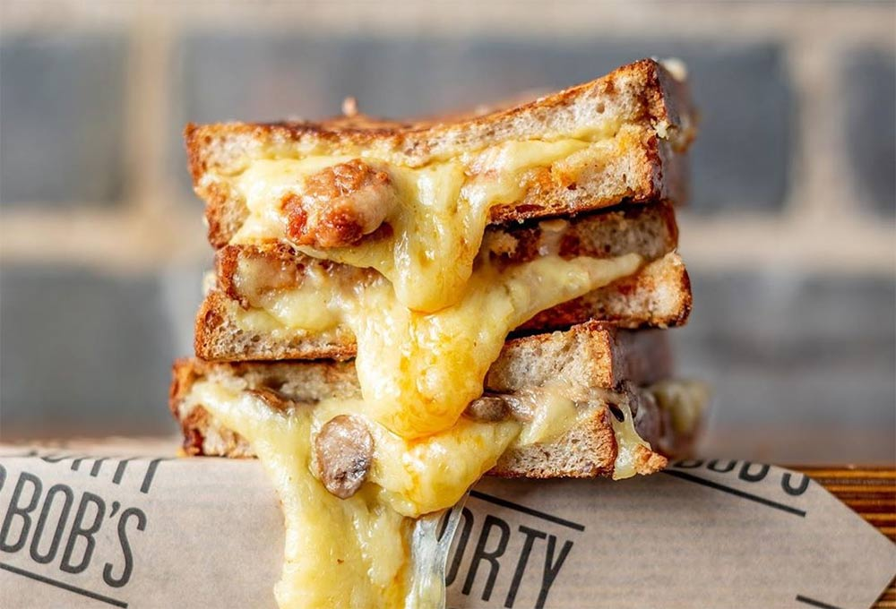 Morty & Bobs are running a live cheese toastie masterclass