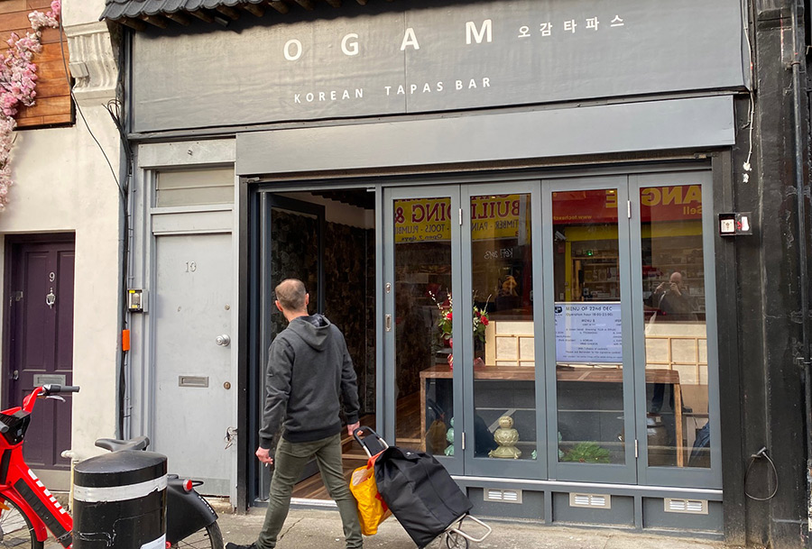 Ogam Korean tapas bar has opened in Islington