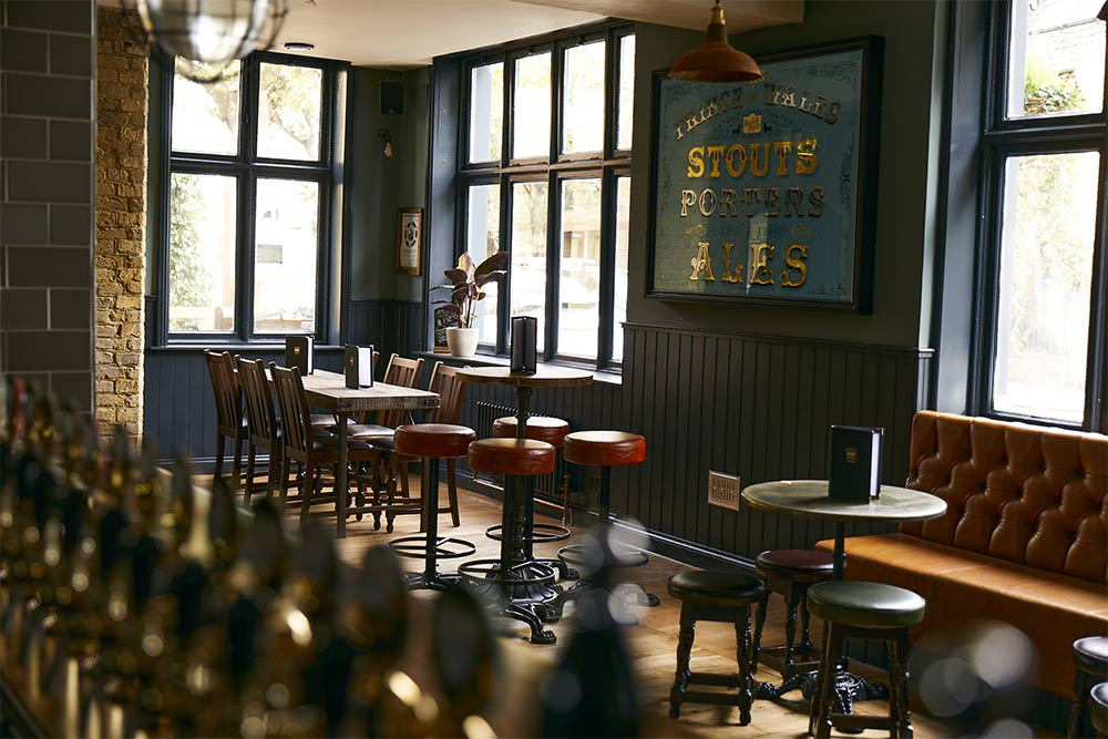 The Prince of Wales Townhouse is a new pub for Hammersmith