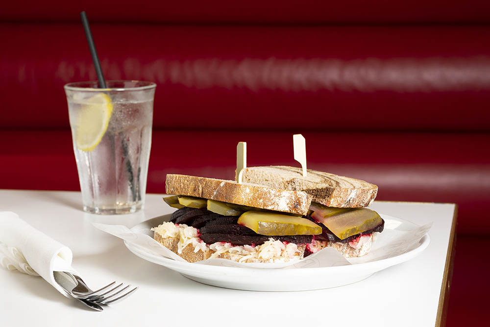 selfridges salt beet sandwich