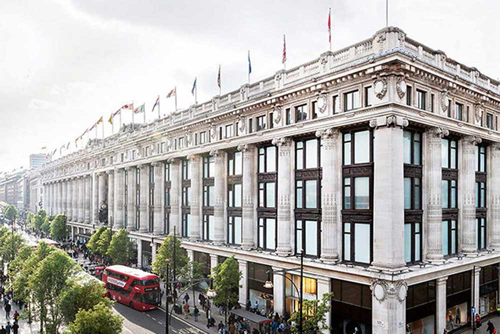 selfridges reopens its food hall in London